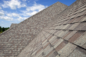 Homes roofed with asphalt shingles in Norfolk