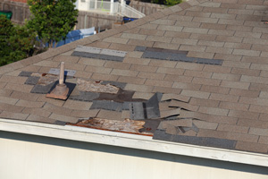 Roof Shingle Blow-off Repair in Chesapeake, Virginia Beach